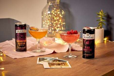 Premium Canned Cocktail Refreshments