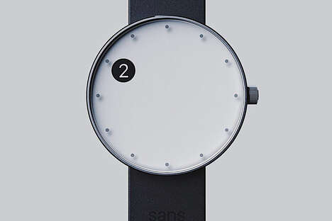 Minimalist Shifting Cutout Timepieces