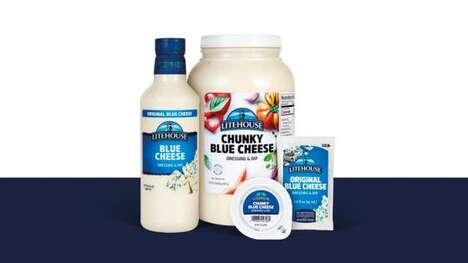 Chunky Blue Cheese Dips : Chunky Blue Cheese Dip 1