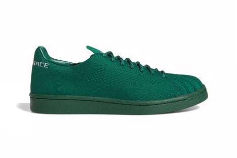 Autumn-Tonal Knit Sneakers