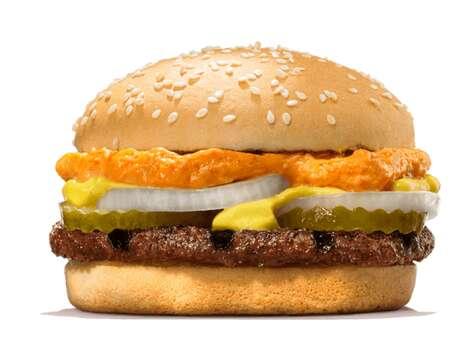 Oktoberfest-Themed Burgers