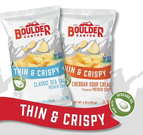 Extra-Crispy Snack Chips