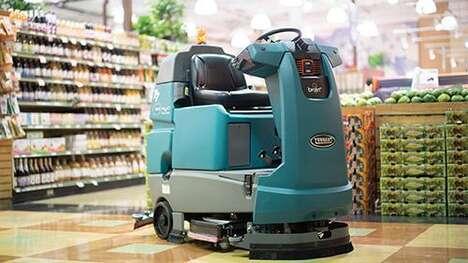 Autonomous Retail Cleaning Initiatives