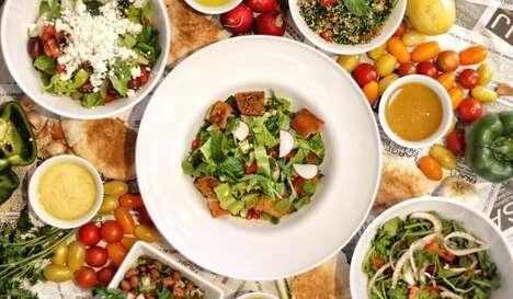 Fast Casual Mediterranean Salads