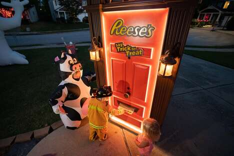 Robotic Halloween Doors