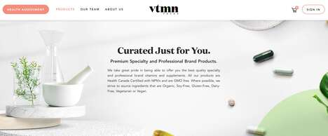 Curated Vitamin Services