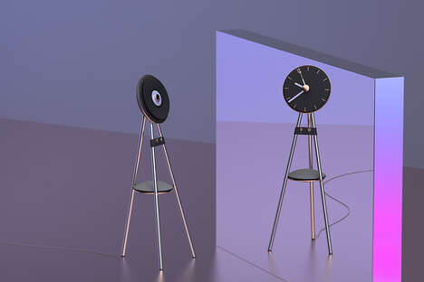 Dual-Function Turntable Clocks