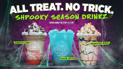Monstrous Halloween Drinks