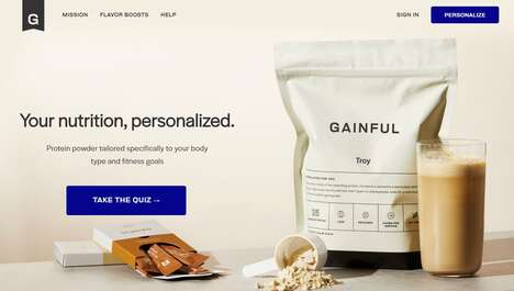 Tailor-Made Protein Supplements