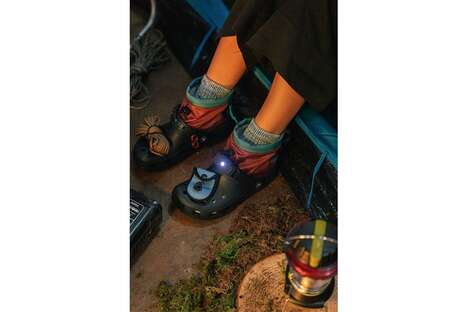 Utility-Focused Outerwear Clogs