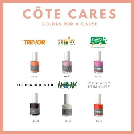 Charitable Nail Polish Shades