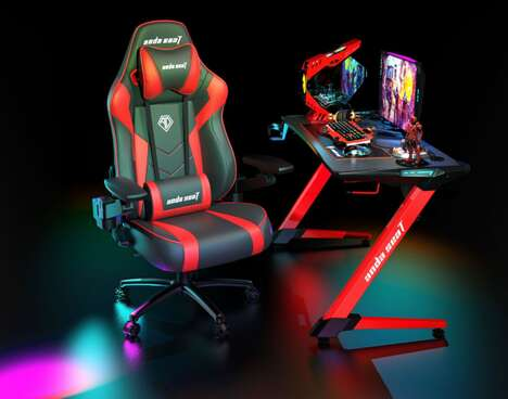 Race Car Seat-Inspired Gaming Chairs