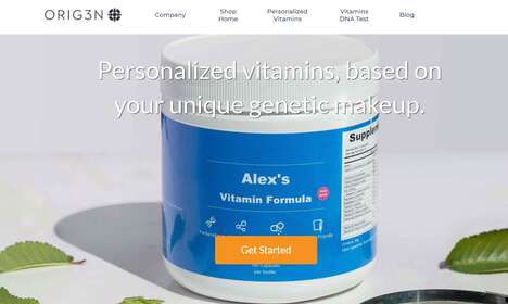 Custom-Blended Daily Vitamins