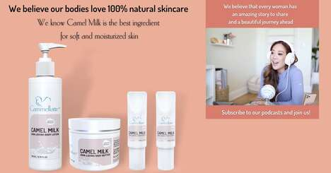 Camel Milk Body Care Lines
