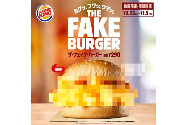 Mysterious Burger Promotions