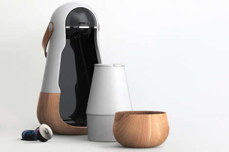 Matryoshka Doll-Inspired Coffee Makers