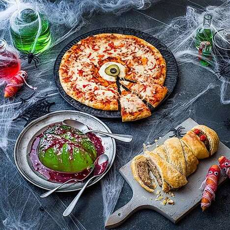 Gruesomely Themed Food Ranges