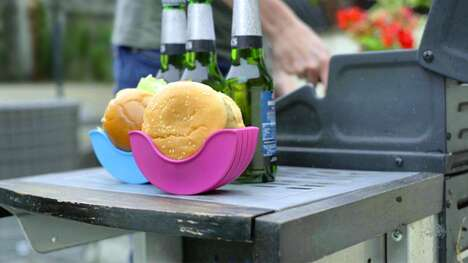 Mess-Free Burger Caddies