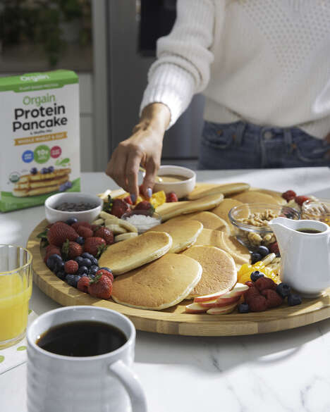 Protein-Packed Pancake Mixes