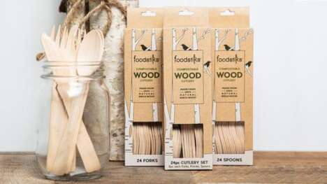 Renewable Wooden Cutlery