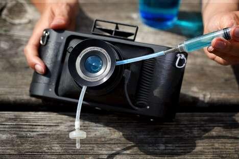 Liquid-Filled Camera Lenses