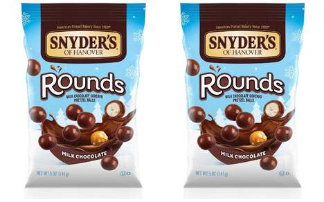 Limited-Edition Chocolatey Pretzel Snacks