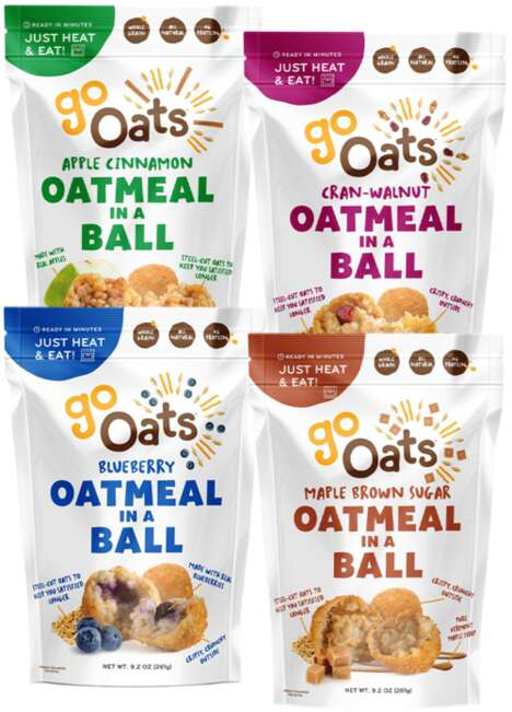 Baked Oat Ball Snacks