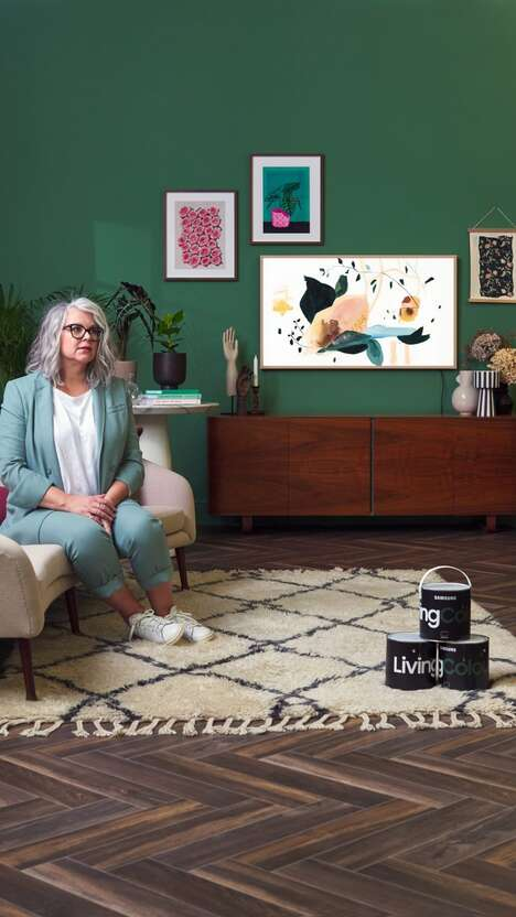 TV-Inspired Paint Collections