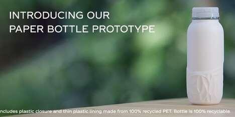 Paper-Based Soda Bottles