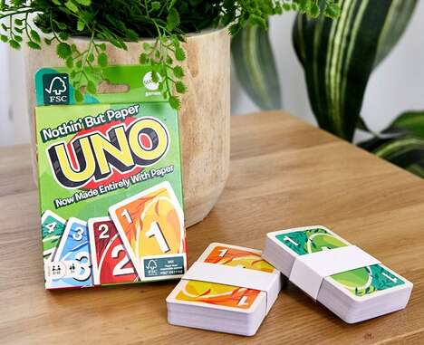 Recyclable Paper Card Games