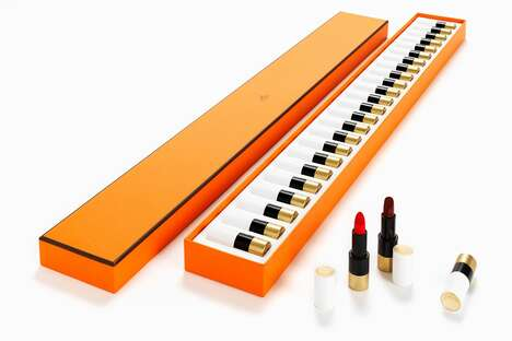 Piano-Inspired Lipstick Collections