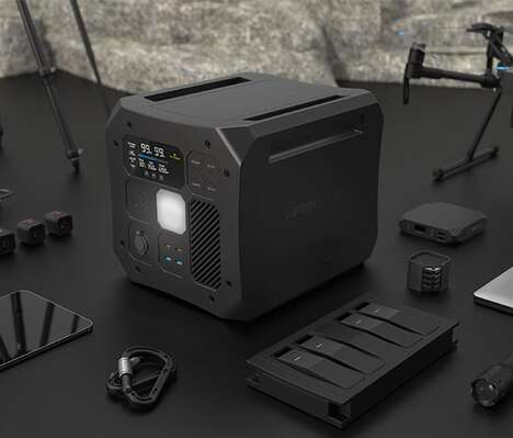 Off-Grid Connectivity Power Hubs