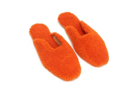 Fashionable Fuzzy Slippers