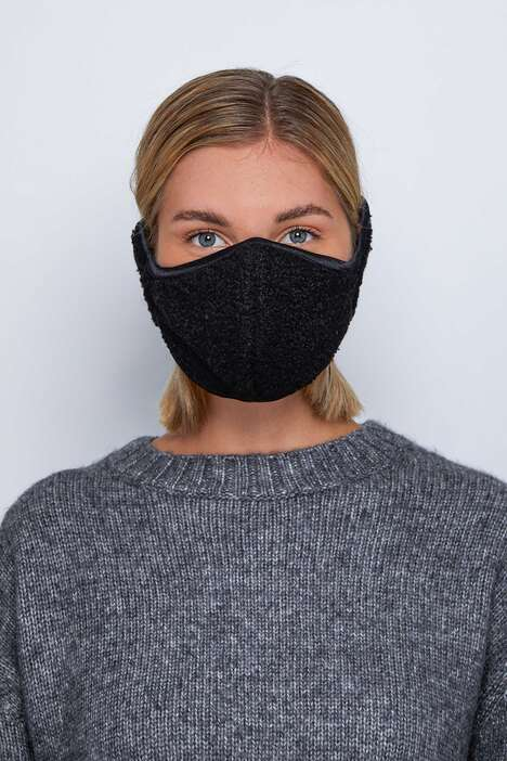 Winter-Ready Ear Muff-Integrated Masks