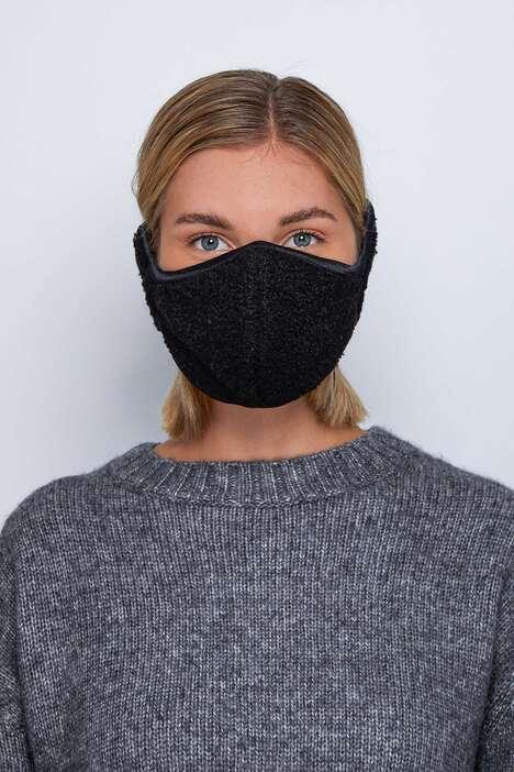 Winter-Ready Ear Muff-Integrated Masks