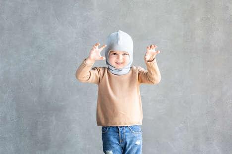 Luxury Children's Winter Balaclavas