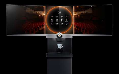 Experiential Coffee Machine Launches