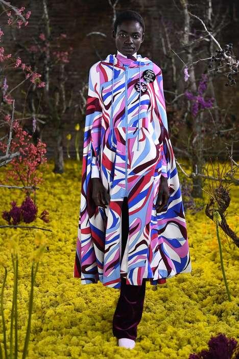 Psychedelic Dystopian Womenswear Lines