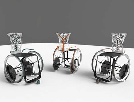 Chic Easy-to-Operate Wheelchairs