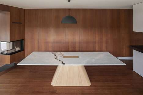 Subtle Storage Dining Tables