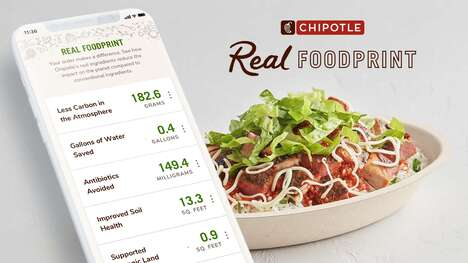 Impact-Tracking Restaurant Apps