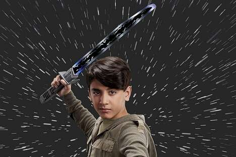 Sci-Fi Show Play Swords