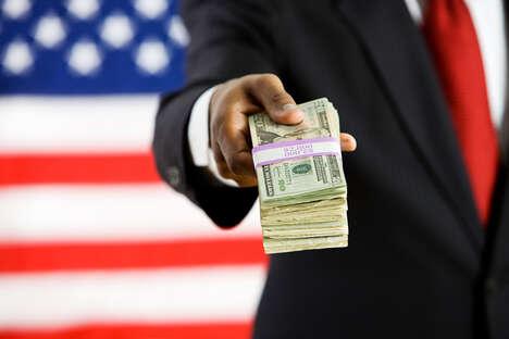 Stress-Alleviating Political Donation Platforms