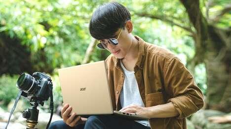 Ultra-Thin Digital Professional Laptops