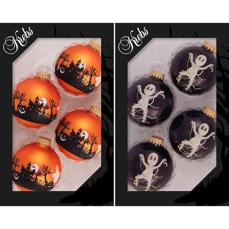 Halloween-Themed Tree Ornaments