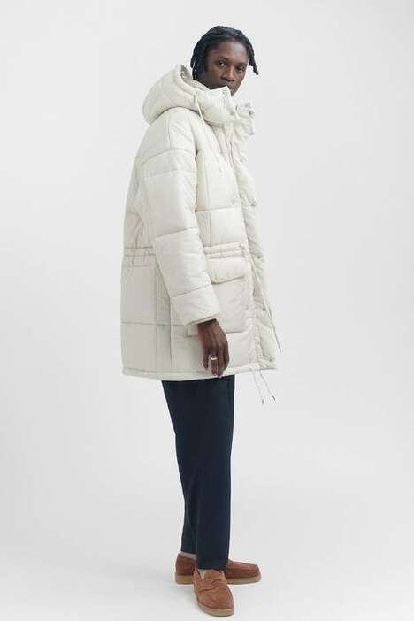 Sustainably Made Minimal Parkas