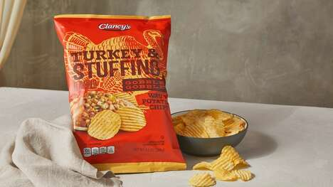 Turkey Dinner-Flavored Potato Chips