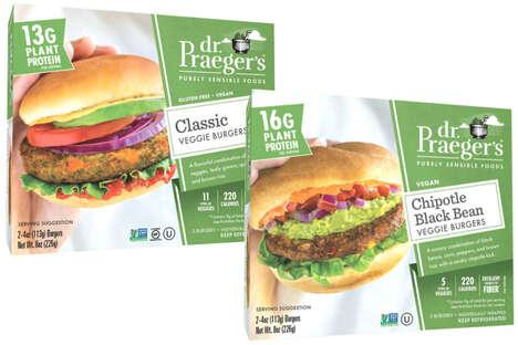 Refrigerated Veggie Burgers