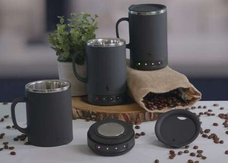 Dishwasher-Friendly Heated Mugs