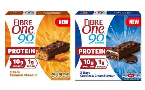 Fiber-Rich Protein Snack Bars